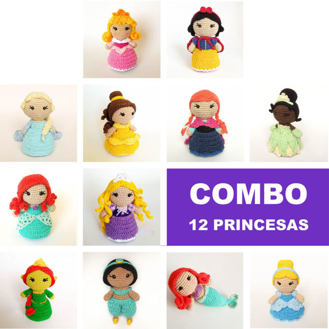 Combo 12 princesas