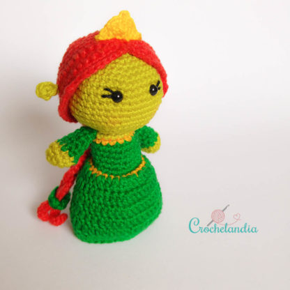 Toy Art Amigurumi Fiona