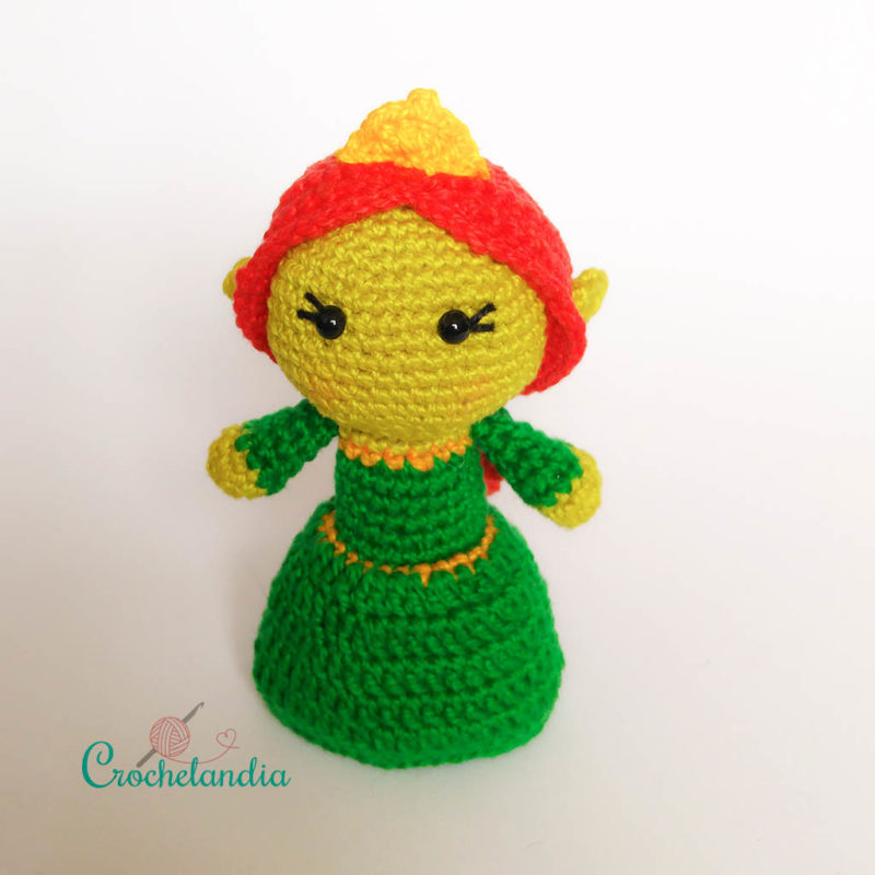 Toy Art Amigurumi Fiona