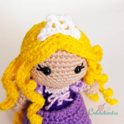 Toy Art Amigurumi Rapunzel