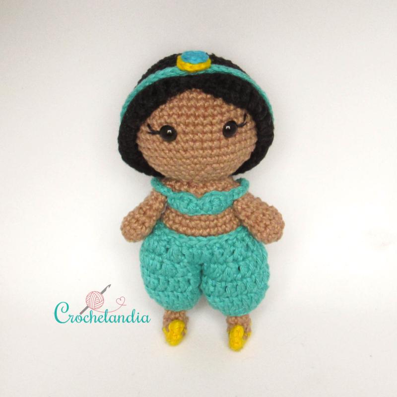 Toy Art Jasmine Amigurumi