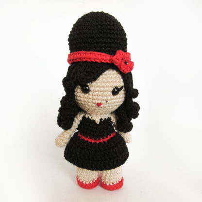 Toy Art Amigurumi Amy Winehouse
