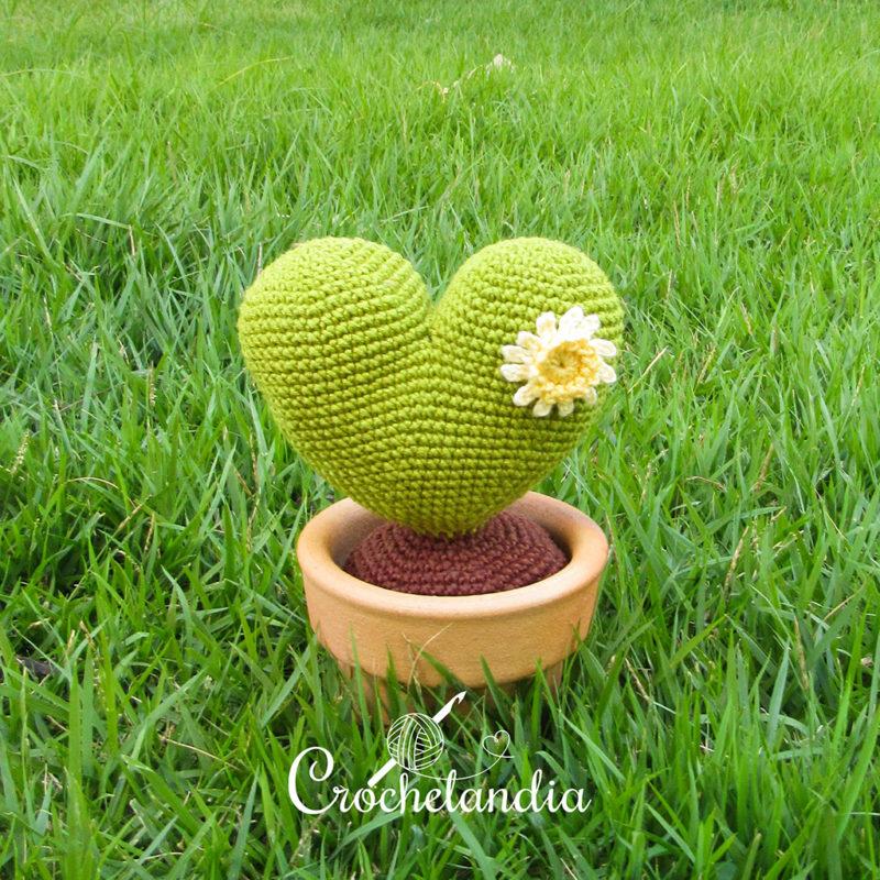 Cacto Amore - Receita Gratuita da Crochelandia
