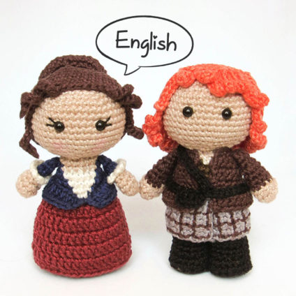 Toy Art Claire and Jamie Amigurumi