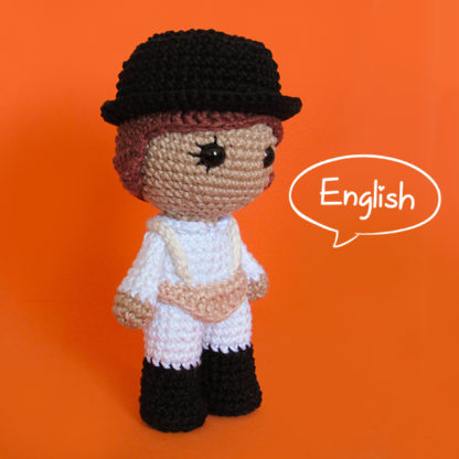 Toy Art Amigurumi Alex DeLarge - A Clockwork Orange