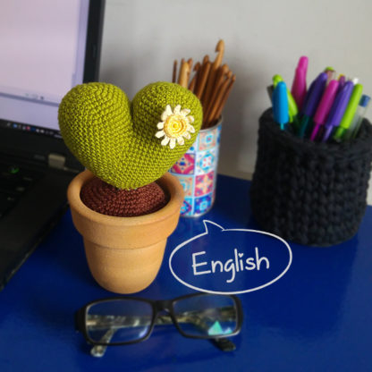 Free Crochet Pattern: Cactus Amore