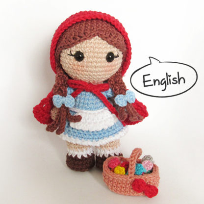 Amigurumi Little Red Riding Hood