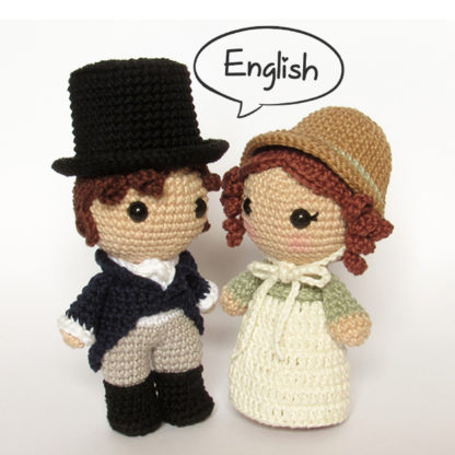 Toy Art Mr Darcy and Elizabeth