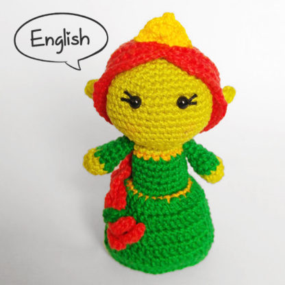 Toy Art Amigurumi Princess Fiona