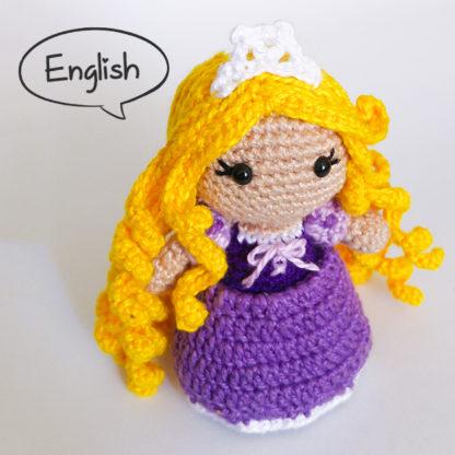 Amigurumi Crochet Pattern Rapunzel