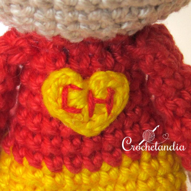 Toy Art Chapolin Colorado - by Crochelandia