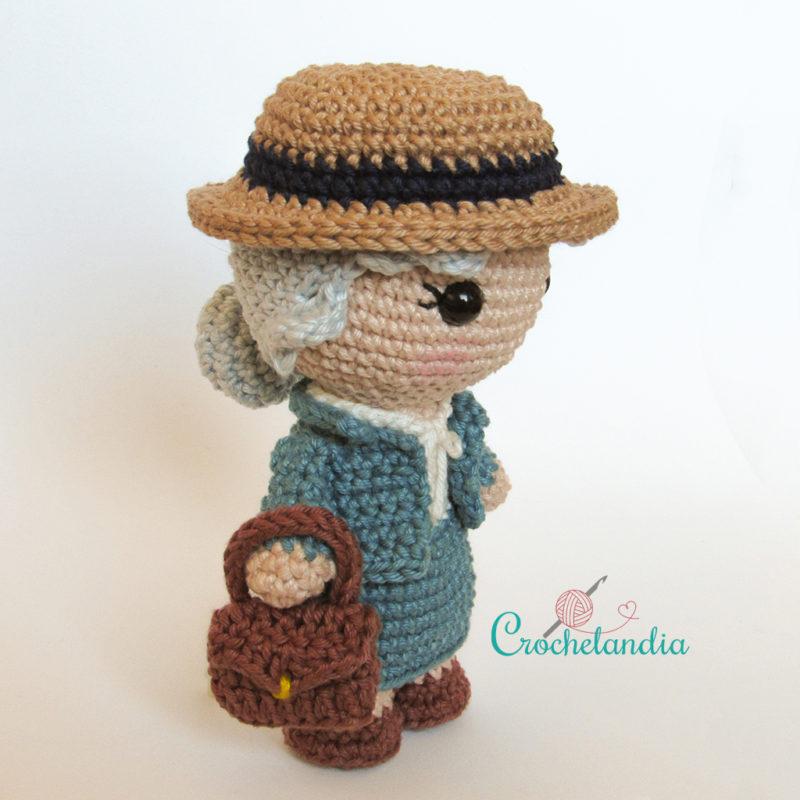 Toy Art Amigurumi Miss Marple - by Crochelandia