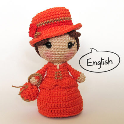 Toy Art Amigurumi Emma Bovary - free crochet pattern by Crochelandia