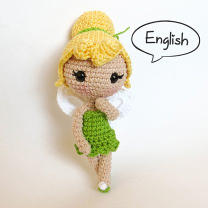 Toy Art Amigurumi Tinker Bell - by Crochelandia